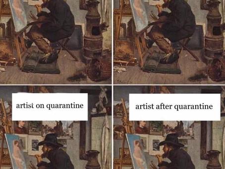 Kunstenaar In Lockdown