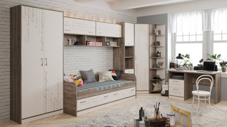 Набор детской мебели «Брауни» №3