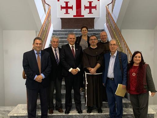 Επίσκεψη του Επιτρόπου Προεδρίας στο Κολέγιο Τέρρα Σάντα