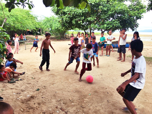 Poverty, armed conflict, contagion… and then there was football