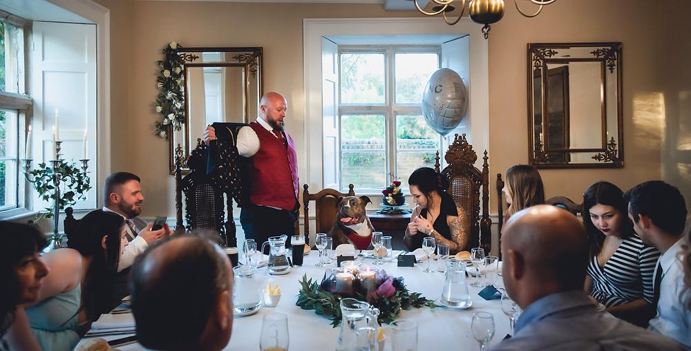 Intimate Wedding Breakfast