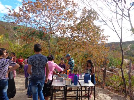 Registros de nossa visita na comunidade Bom Jardim no Vale do Jequitinhonha