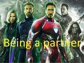 Partners should not be super heroes