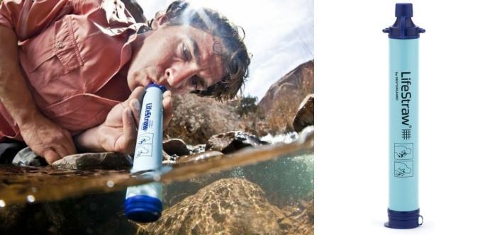 kit voyageur filtre eau