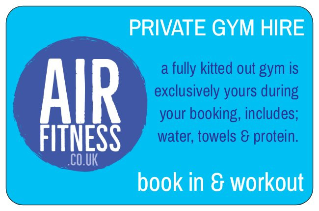 Air Fitness gym hire ballymena