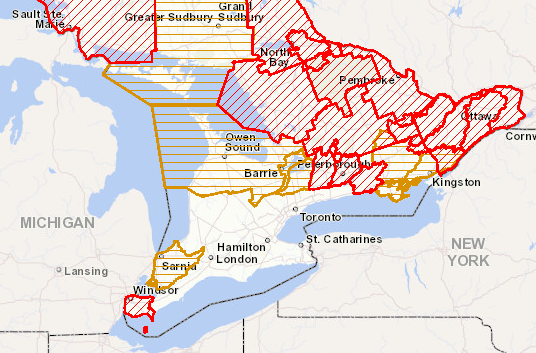 Flood Alerts | April 30th, 2019 | Southern Ontario | Ministry of Natural Resources and Forestry