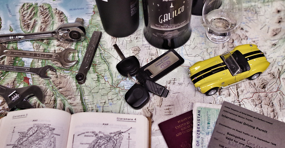 adventure planning for overland trip
