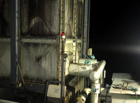 台風被害による加圧給水ポンプ緊急対応工事