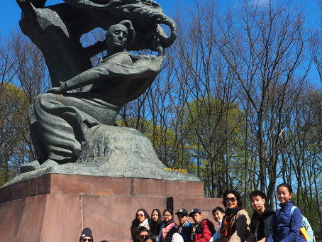 DAY 10: Łazienki Park, Chopin Academy, and Pierogis