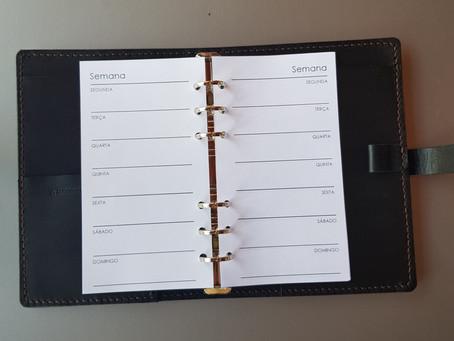 Planner analógico: Layout ideal para cada pessoa