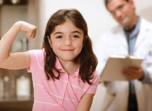 86.3% of Children are in Great Health