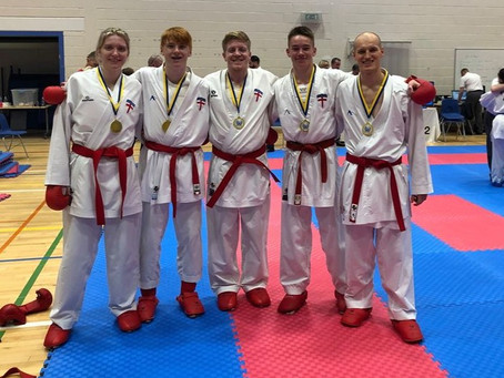 York Karate excels as JKS England compete at the JKS Scotland National Championships