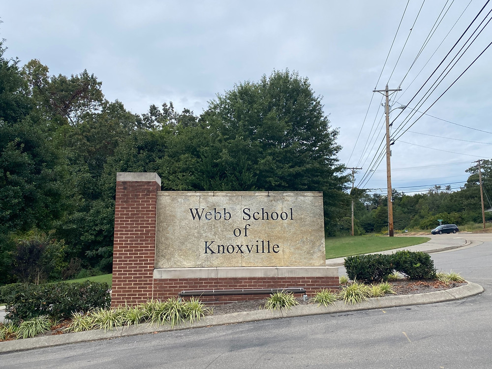 Webb School of Knoxville, the host of Refill Coffee Cart's Caffeinated Catering service.