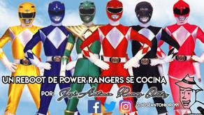 Un reboot de Power Rangers se cocina