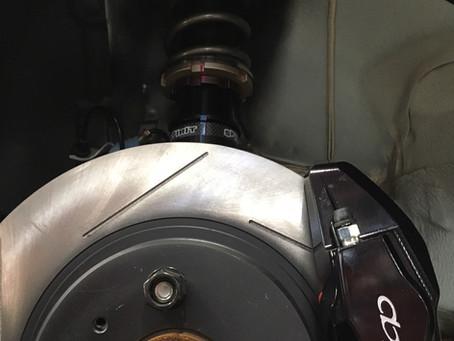 ホンダS660 SPIRIT SPEC-X車高調/ ACREブレーキキャリパー取付け