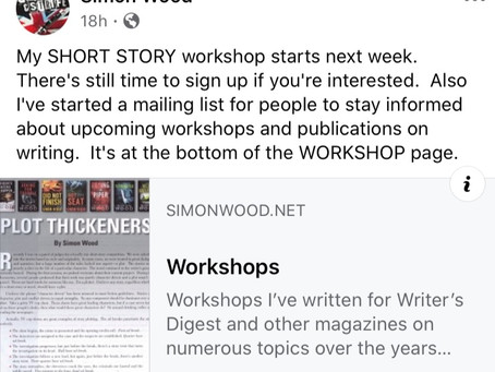 Short Story Workshop-Simon Wood