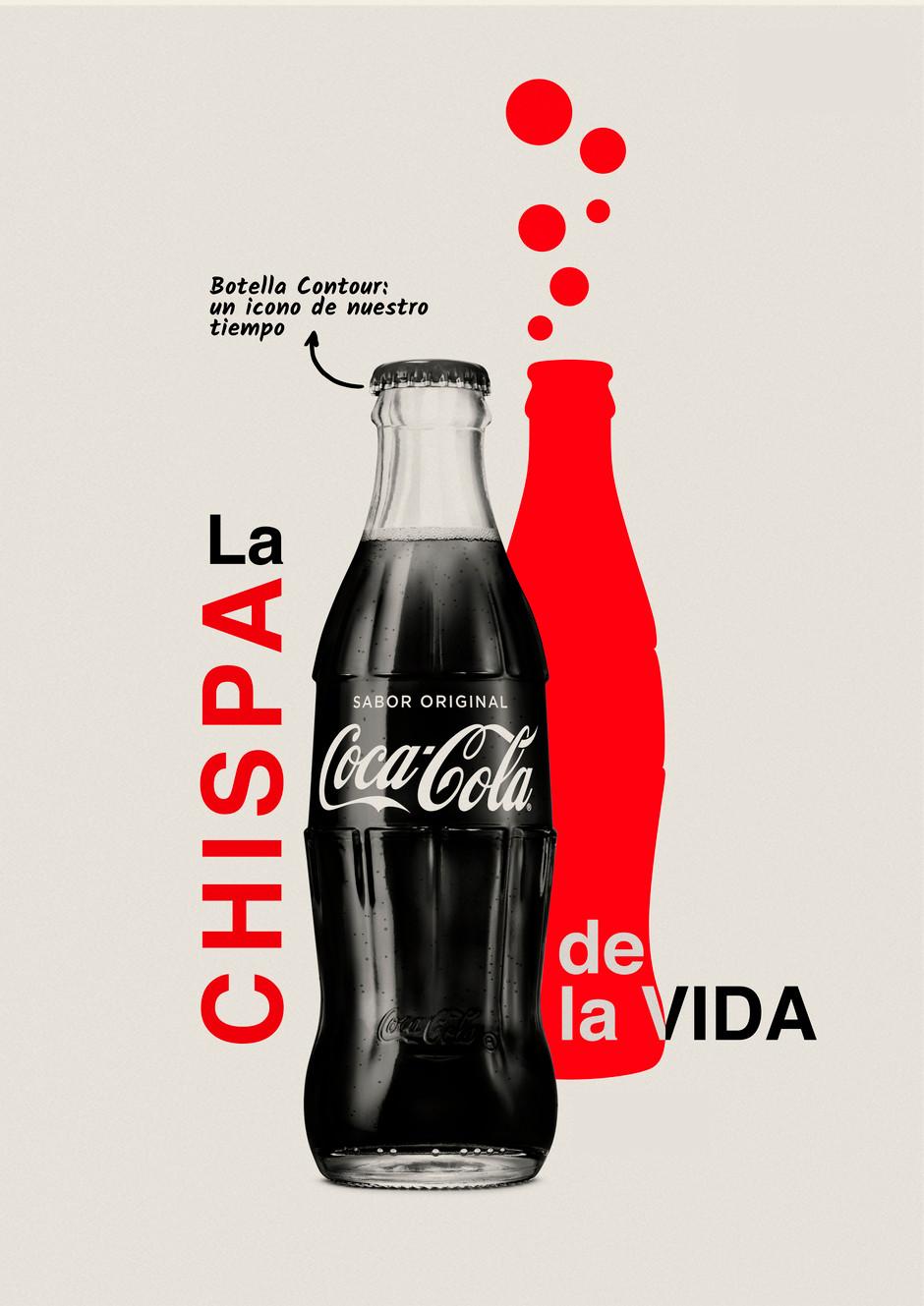 Coca-Cola, la Chispa de la Vida, Poster.