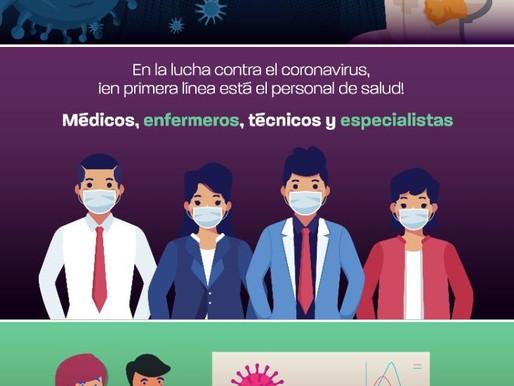 Personal de Salud, en primera línea contra el Coronavirus