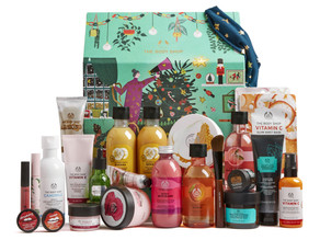 Christmas Advent Calendars by The Body Shop