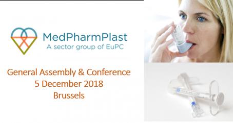 MedPharmPlast Europe GA & Conference on 5 December 2018 in Brussels