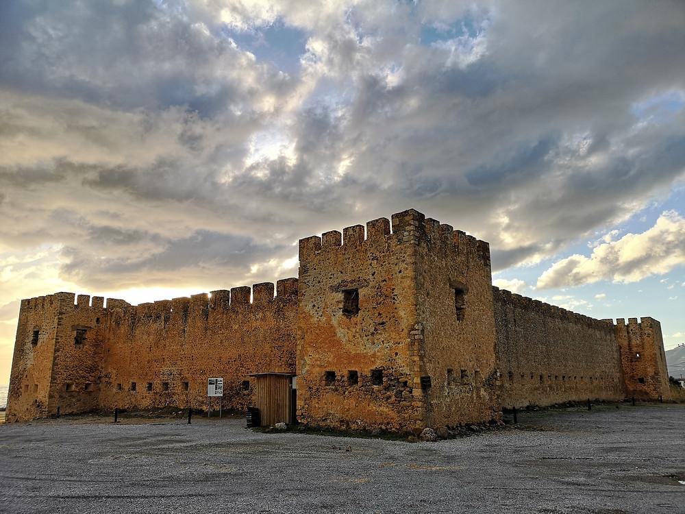 Frangokastello Castle Crete