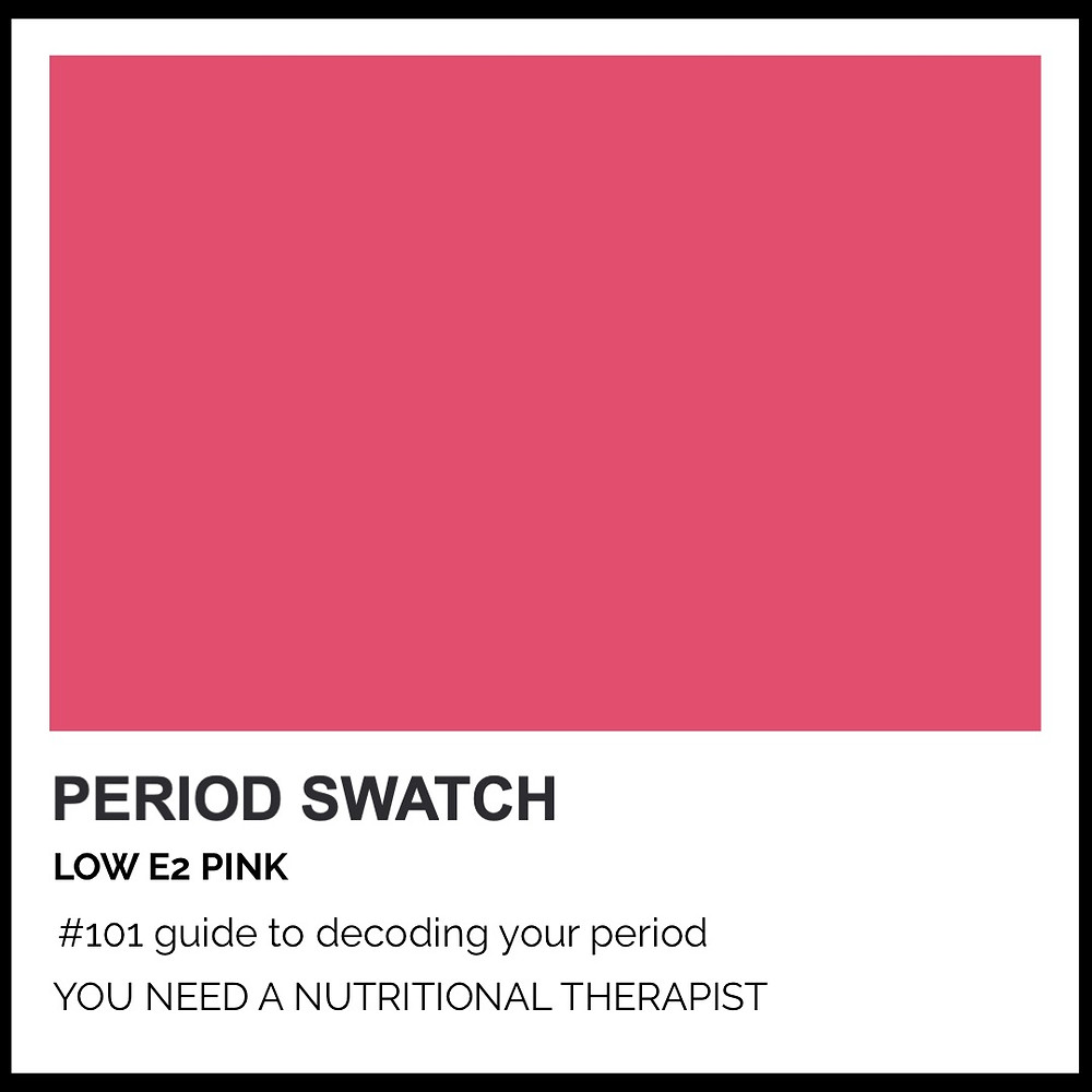 Period-Pantone Low E2 Pink by Hormone Specialist Kay Ali