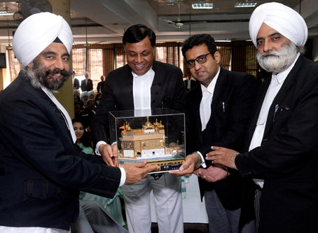 Punjab and Haryana High Court Bar Association, bid farewell to Hon'ble Mr. Justice M.M.S. Bedi