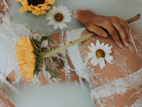 Womb bath cleanse Release Ritual