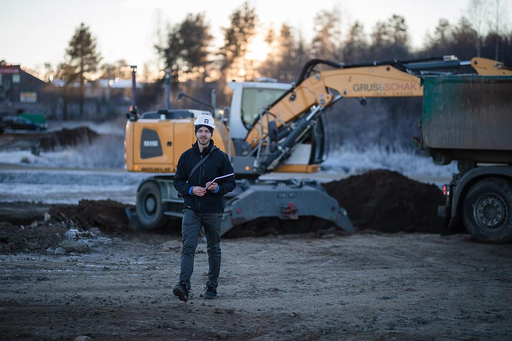 Konsult CE-märkning grävmaskin