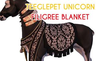 Snode - Filigree Blanket (Unicorn)