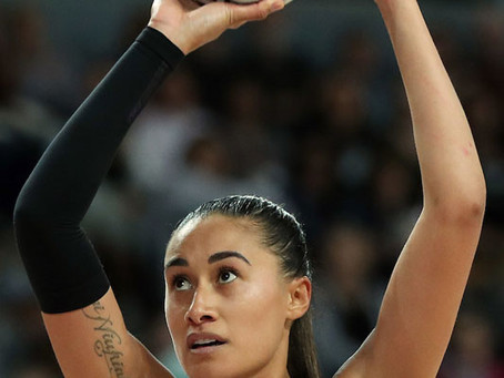 Folau embraces new role in Silver Ferns