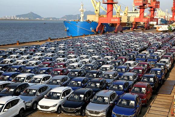 จีนดันส่งออก รถยนต์มือสอง ในทวีปเอเชียและแอฟริกา