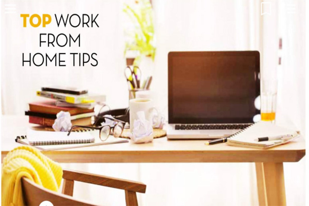 top work from home tips