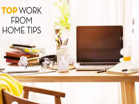 Top Work From Home Tips For Quick Success: Professional But Homey