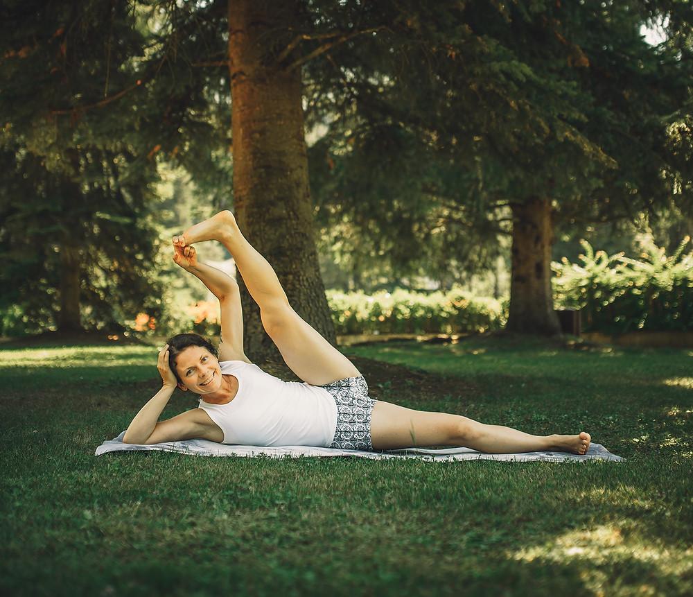 Pozycja śpiącego Vishnu, Marta Sokołowska, joga