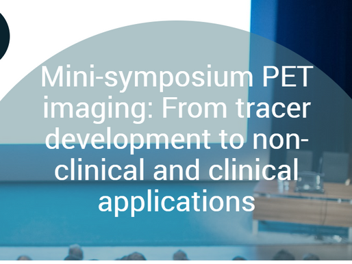 Mini-symposium PET imaging: From tracer development to non-clinical and clinical applications
