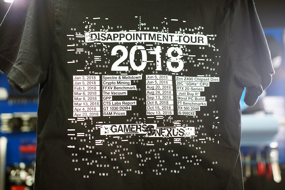 Disappointment Build Shirt