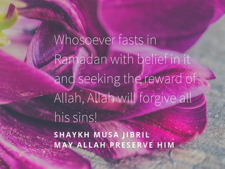 Fast and Have Your Sins Forgiven