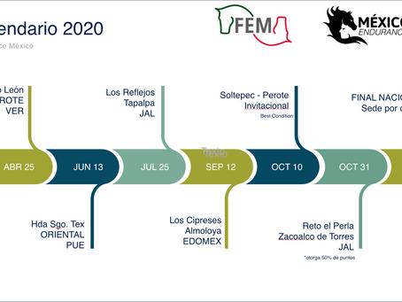 Endurance México presenta calendario 2020