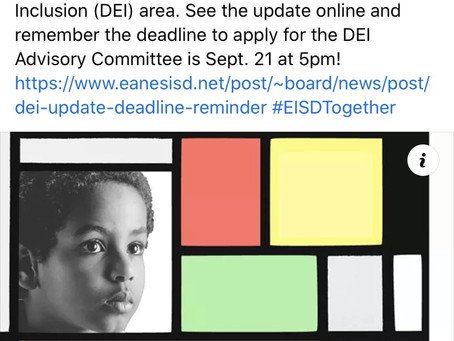 Eanes ISD-Diversity, Equity & Inclusion