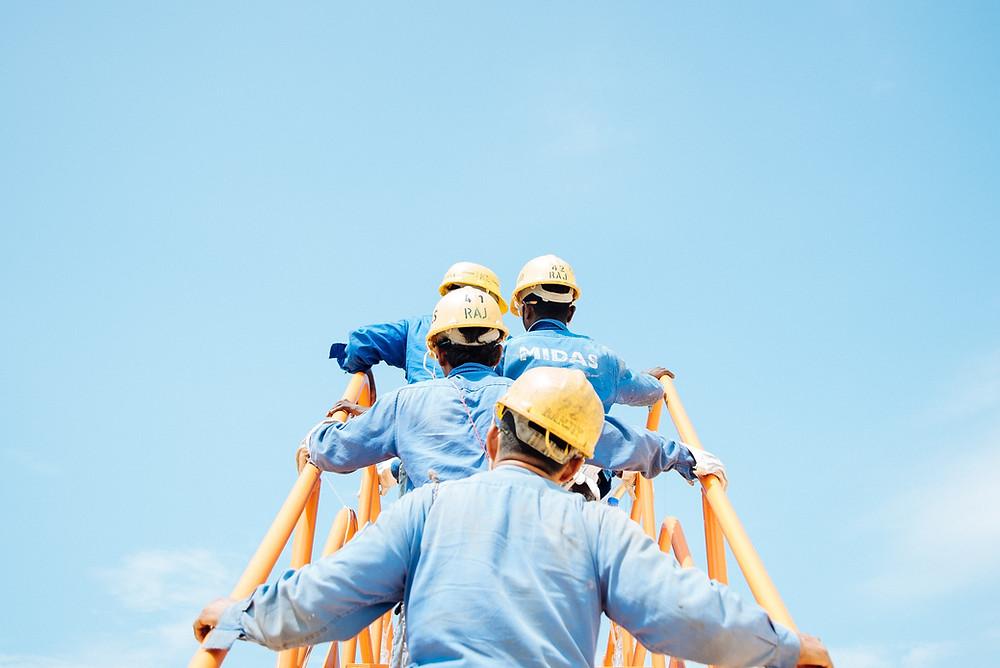 trabalhadores setor industrial