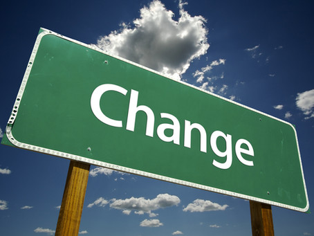 The way you bring about change is what you end up with