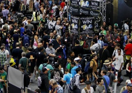 Muslims mistake SD Comic Con as heaven due to abundance of virgins.