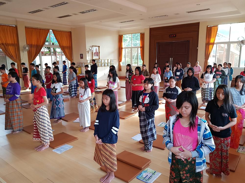 Pekan Penghayatan Dhamma - Sekolah Fajar Indah