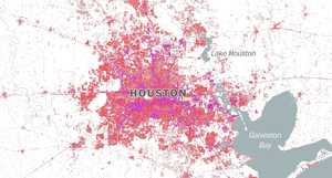 Houston's sprawling and ever expanding sea of concrete