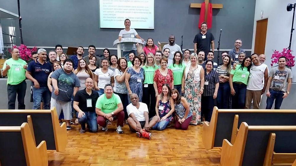 Participantes do Workshop 301 da Igreja do Nazareno - Jardim Aurélia