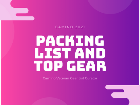Camino Packing List 2021