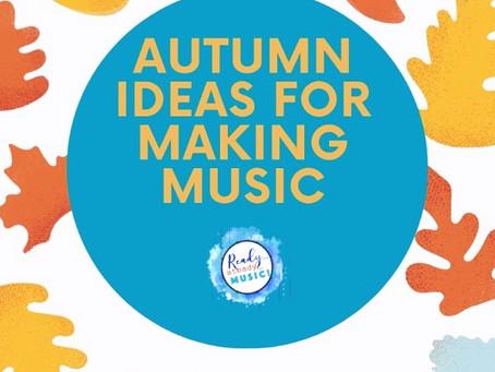 Musical Fun for Autumn Days
