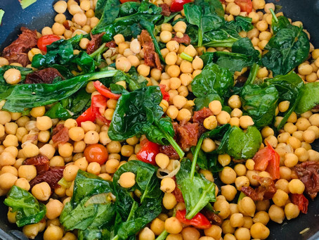 Vegan Chickpea Lunch Perfection