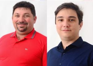 Vereador Rodolfo Cordeiro e Toinho Natanael anunciam intenção de disputar presidência da Câmara